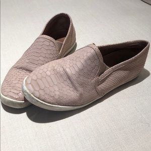 Joie blush pink shoes